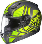 HJC CL-17 Redline Helmets XLG HI Viz Yellow 828-935
