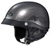 HJC CL-Ironroad Black Rose Helmet Lg Grey 496-954