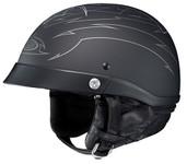 HJC CL-Ironroad Show Boat Helmet Lg Flat Black 494-854