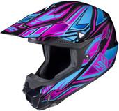 HJC CL-X6 Fulcrum Helmets LRG Pink Blue 738-984