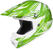 HJC CL-X6 Fulcrum Helmets MED Green Multi 738-943