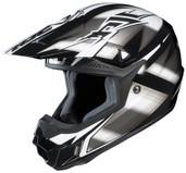 HJC CL-X6 Spectrum Helmet Lg Black/Silver HJC734-954
