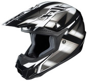 HJC CL-X6 Spectrum Helmet Md Black/Silver HJC734-953