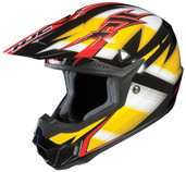 HJC CL-X6 Spectrum Helmet Sm Black/Yellow HJC734-932