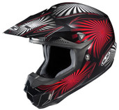 HJC CL-X6 Whirl Helmet Sm Black/Red HJC736-912