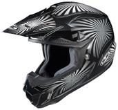 HJC CL-X6 Whirl Helmet XS Black/Silver HJC736-951