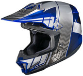 HJC CL-X7 Cross Up Helmet Lg Black/Blue 748-924
