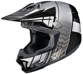 HJC CL-X7 Cross Up Helmet Lg Black/Grey 748-954