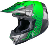 HJC CL-X7 Cross Up Helmet Md Black/Green 748-943