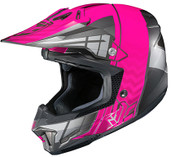 HJC CL-X7 Cross Up Helmet Md Black/Pink 748-983