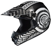 HJC CL-XY Youth Wanted Helmet Juniors - XS Black/Silver HJC274-952
