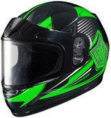HJC CL-Y SN Striker Youth Snow Helmet Lg Green 235-944