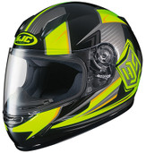 HJC CL-Y Striker Youth Helmet Lg HI Viz Yellow 234-934
