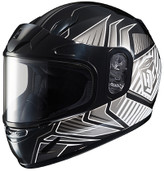 HJC CL-Y Youth Redline Snowmobile Helmet Lg Black 231-954