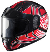 HJC CL-Y Youth Redline Snowmobile Helmet Lg Red 231-914
