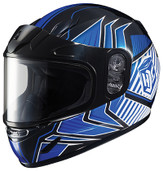 HJC CL-Y Youth Redline Snowmobile Helmet Sm Blue 231-922