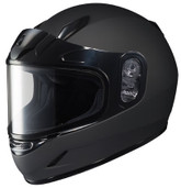 HJC CL-Y Youth Solid Snowmobile Helmet Juniors - Md Matte Black HJC223-614