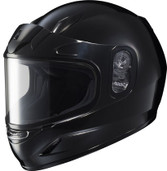 HJC CL-Y Youth Solid Snowmobile Helmet Juniors - XS Black HJC223-602
