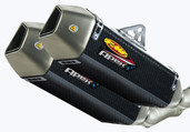 FMF Apex Slip-On Dual Exhaust Ducati Monster 696/1100/796 045282
