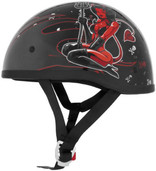 Skid Lid Original Hell on Wheels Helmet