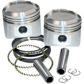S&S Cycle 3 1/2in Forged Piston Kit for Super Stock Head 0.010 Oversized 92-2027