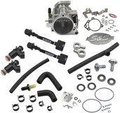 S&S Cycle 52mm Single Bore RFI Throttle Body/Fuel Rail Kit 17-5070