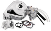 S&S Cycle Super E Shorty Carburetor Kit w/ Manifold 11-0406