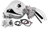 S&S Cycle Super E Shorty Carburetor Kit w/ Manifold 11-0411