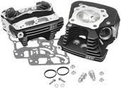 S&S Cycle Super Stock 89cc Cylinder Head Kit .640in Lift Springs Black 90-1106
