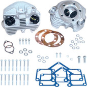 S&S Cycle Super Stock Cylinder Heads (Rubber Band Intake) Natural 90-1498