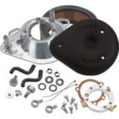 S&S Cycle Teardrop Air Cleaner Kit Black 170-0182