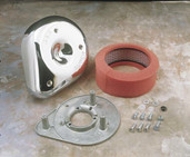 S&S Cycle Teardrop Air Cleaner Kit for S&S E and G Series Carburetors 17-0399
