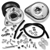 S&S Cycle Teardrop Air Cleaner Kit Stock CV & EFI 17-0448
