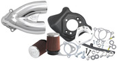 S&S Cycle Tuned Induction Kit Chrome Chrome 106-2448