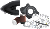 S&S Cycle Tuned Induction Kit Wrinkle Black Wrinkle Black 106-2447