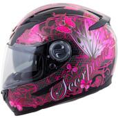 Scorpion EXO-500 Mariposa Helmet Lg Pink 50-10325