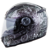 Scorpion EXO-500 Mariposa Helmet Md Silver 50-10044