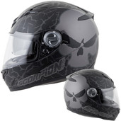Scorpion EXO-500 Numbskull Helmet Lg Phantom 50-11425