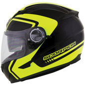 Scorpion EXO-500 West Graphic Helmet 2XL Neon 50-8507