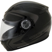 Scorpion EXO-500 West Graphic Helmet Lg Dark Silver 50-8125