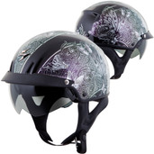 Scorpion EXO-C110 Mariposa Half Helmet XL Silver C11-2046