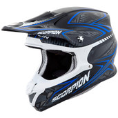 Scorpion VX-R70 Blur Off Road Helmet 2XL Blue 70-5027