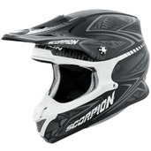 Scorpion VX-R70 Blur Off Road Helmet Md Silver 70-5044