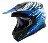 Scorpion VX-R70 Flux Helmet Lg Blue SCORPION70-2025