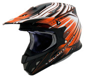 Scorpion VX-R70 Flux Helmet Lg Orange SCORPION70-2085