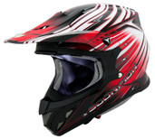 Scorpion VX-R70 Flux Helmet Lg Red SCORPION70-2015