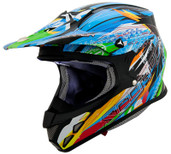 Scorpion VX-R70 Fragment Helmet Lg Black SCORPION70-3035