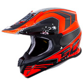 Scorpion VX-R70 Quartz Helmets Lg Neon Orange 70-3835
