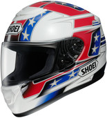 Shoei Qwest Banner Helmet XSM Red 0115-1401-03