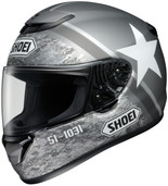 Shoei Qwest Resolute Helmet XLG Black 0115-1305-07